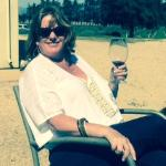 Leisurely wine tasting