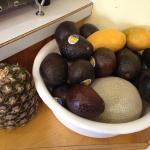 Fresh fruits for Bubble Tea.