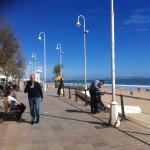 Guardamar beach in February, 10 minutes walk from hotel