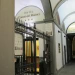 Hotel entrance (inside)