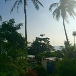 The mesmerising view from our villa