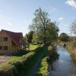 Glorious sunshine over the Montgomery Canal - Horsedrawn Canal Boat Trips and Canoes available