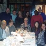 Team dinner at Roots restaurant!