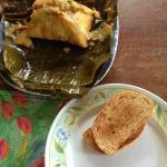 Naca Tamales for breakfast! YUM!
