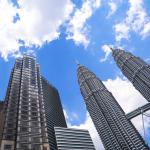 The Petronas Towers are 30 minutes away