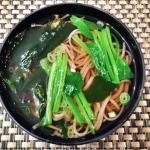 Hot Noodle Soup with Vegetable