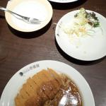 hamb/cheese and pork cutlet curry dishes