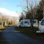 Camping Ruta de la Plata - campsite in the winter