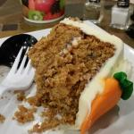 Aside from gelato they also have yummy cakes - Carrot cake