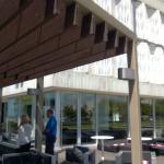 vista lateral do Hotel Altis Belém e Cafetaria Mensagem