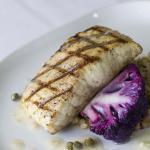Grilled Seasonal Fish with Purple Cauliflower