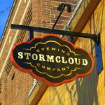Stormcloud Sign on Main Street