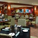 Enjoy dinner and drinks in our Cardinal Lounge