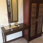 Desk and Cabinet inside Queen Room