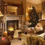 Drawing Room at Christmas