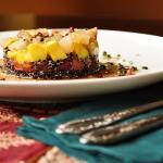 Terrine de quinoa negra