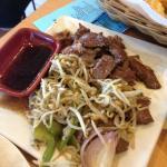 Us steak included on the menu