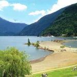 Located on Harrison Lake