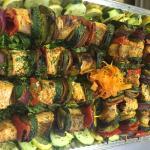 Samon kakab platter for catring
