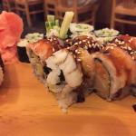Shrimp/Ebi Nigiri, Cucumber roll, Super Crunch Roll (AMAZING!!!)