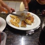 Pizza e batata frita