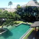 Villa Chocolat: large swimming pool!