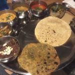 Gujarathi Vegetarian Thali