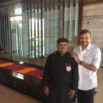 With Gujarathi Chef Mitesh