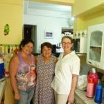 Avec Merce et Suzana