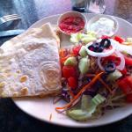 """This """"quesadilla"""" was so good!! Maybe better than in Mexico ;-) Thank you for the good food..."""