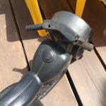 Another broken bike with sharp edges