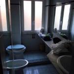 Badezimmer ist in Ordnung, nur keine Haken für Handtücher