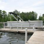 Pontoon boat for rent