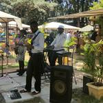Jazz Band playing on Saturday and Sunday afternoon