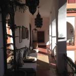 Couloir entre les chambres