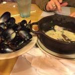 Mussels were so good I ate them all up!