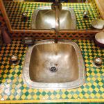 Decori tradizionali del bagno