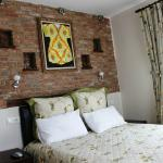 Fulya pension double room with view of lake