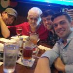 'Gram's' 91st birthday lunch with grandsons