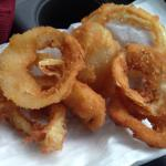 The nasty stale cold greasy onion rings we waited 20 minutes to recieve. Gross!!!!