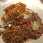 Sante fe Enchiladas are soooo flavorful!!!!
