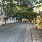Morning walk near the hotel