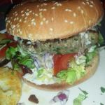 Green Pepper Burger