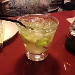 Caipirinha de Saquê de Limão
