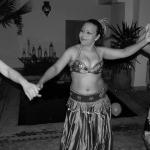 Belly Dancing lesson in the Riad