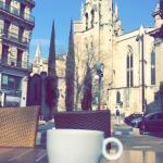 Cafe en terrasse.. Vue superbe!!