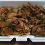 Pork Drunken Noodles Lunch special
