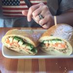 Great chicken sandwich.