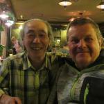 """Captain Nobuo & Tony in """"The Bar"""""""