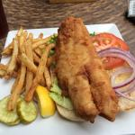 Traditional Grouper Sandwich